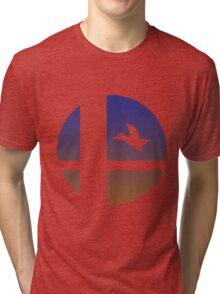 Super Smash Bros - Duck Hunt Duo Tri-blend T-Shirt