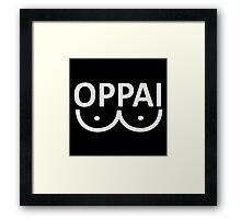 Oppai Saitama Framed Print