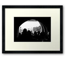 A Castle Point of View Framed Print