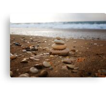 Zen pyramid Canvas Print