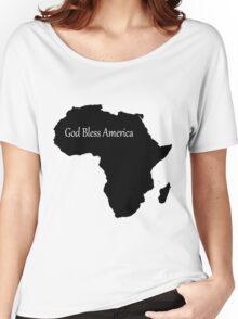 God Bless America - Africa Women's Relaxed Fit T-Shirt