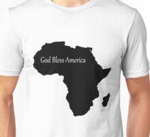 God Bless America - Africa Unisex T-Shirt