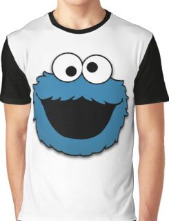 Cookie Monster Muppet Graphic T-Shirt