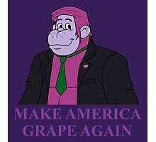 Make America Grape Again Photographic Print