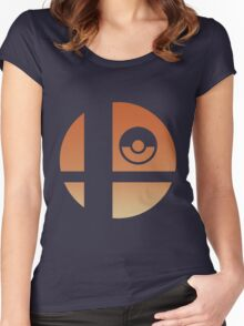 Super Smash Bros - Charizard Women's Fitted Scoop T-Shirt