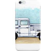 blueprint crewcab iPhone Case/Skin