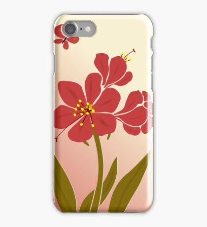 Amaryllis Flowers iPhone Case/Skin