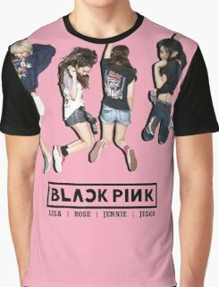 black pink 8 Graphic T-Shirt