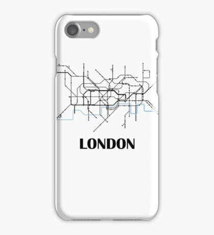 London tube map iPhone Case/Skin