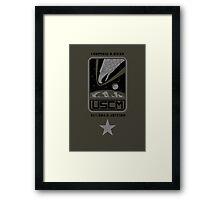 Corporal Dwayne Hicks - Aliens Framed Print