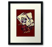 ACE CARDS Framed Print