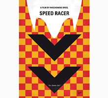 No482 My Speed Racer minimal movie poster Unisex T-Shirt
