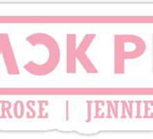blackpink logo  Sticker