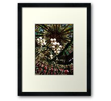 Ceiling Decor - Red and Green Framed Print