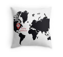 Finding Tallahassee 1 Throw Pillow