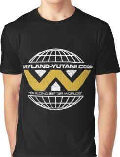 The Weyland-Yutani Corporation Globe Graphic T-Shirt
