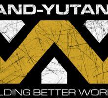 The Weyland-Yutani Corporation Globe Sticker