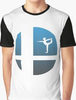 Super Smash Bros - Wii Fit Trainer Graphic T-Shirt
