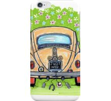 Beetle wedding iPhone Case/Skin