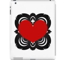 Heart Flake I iPad Case/Skin