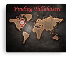 Finding Tallahassee 2 Canvas Print