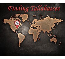 Finding Tallahassee 2 Photographic Print