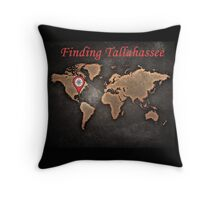 Finding Tallahassee 2 Throw Pillow