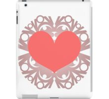 Heart Flake VI iPad Case/Skin