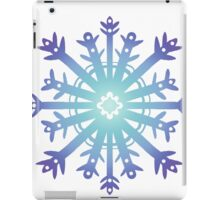 Blue Flake II iPad Case/Skin