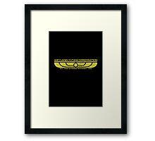 The Weyland-Yutani Corporation Wings Framed Print