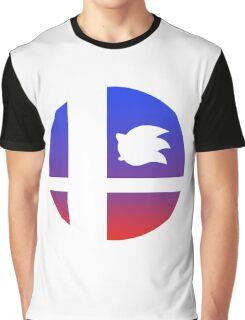 Super Smash Bros - Sonic Graphic T-Shirt