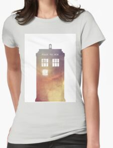 All of Time & Space Womens Fitted T-Shirt