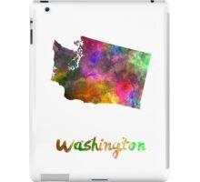 Washington US state in watercolor iPad Case/Skin