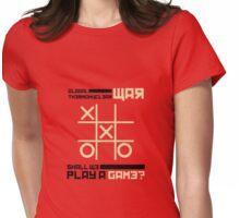 War Games Womens Fitted T-Shirt
