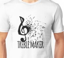 Treble Maker Music Pun Unisex T-Shirt