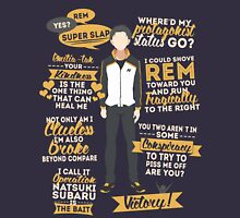 Natsuki Subaru Quotes Unisex T-Shirt