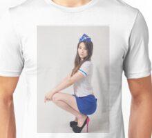 Portrait of beautiful maid Unisex T-Shirt