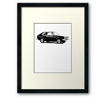 Fiat 128 Framed Print