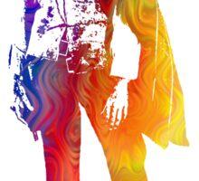 Technicolor Clint Eastwood Sticker