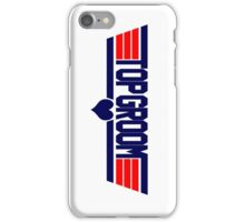 Top Groom iPhone Case/Skin
