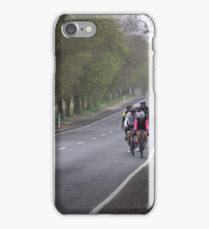 Coming out of the morning mist iPhone Case/Skin