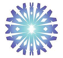 Blue Flake VIII by thedustyphoenix