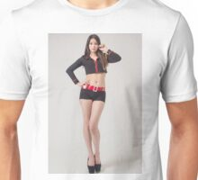 Portrait of beautiful sexy asian  Unisex T-Shirt