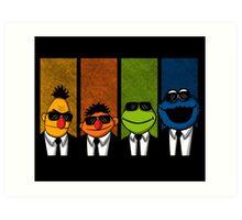 Reservoir Muppets Art Print