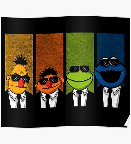Reservoir Muppets Poster