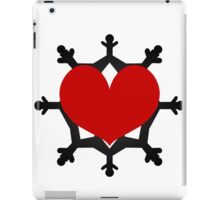 Heart Flake VIII iPad Case/Skin