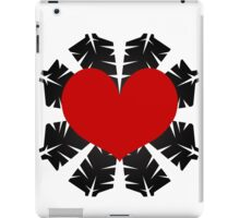 Heart Flake VII iPad Case/Skin