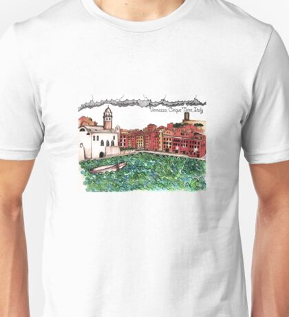 Vernazza Unisex T-Shirt
