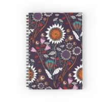 Purple Boheme Spiral Notebook