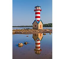 Grafton Lighthouse in Illinois Photographic Print